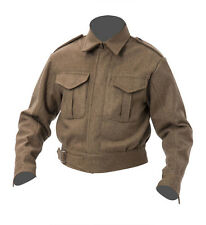 WW2 British Army Battle dress blouse p37 -  large 44 chest