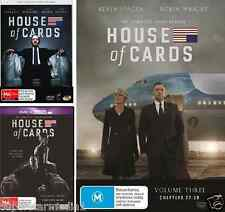House Of Cards : COMPLETE Seasons 1 2 3 : NEW DVD