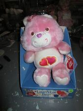 "New In Box VINTAGE 1980's Kenner Plush CARE BEAR ""LOVE A LOT BEAR"" 1984"
