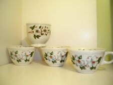 Syracuse Restaurant China  Dogwood Custard Cups