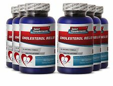 Cholesterol Reducing. Dietary Supplement Complex w/ Policosanol (6 Bottles)