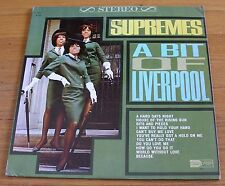 The Supremes 1965 Motown 33 RPM Stereo LP A Bit Of Liverpool  cLEAn!