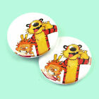 Calvin and Hobbes - Button Badge - 25mm 1 inch - Cartoon Comic