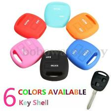 Silicone Key Shell Case Cover For TOYOTA Camry Corolla Rav4 Prado Echo Avensis