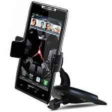Motorola Droid Ultra MAXX RAZR D3 MOTO X G E Car CD Slot Dash Mount Holder Dock