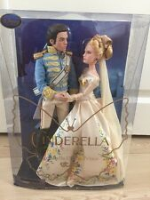 Disney Store UK Live Action Film Wedding Cinderella & Prince Dolls SOLD OUT