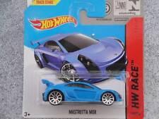 Hot Wheels 2014 #160/250 MASTRETTA MXR blue Batch H New Casting 2014