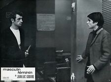 JEAN-PIERRE LEAUD MASCULIN-FEMININ 1966 GODARD PHOTO D'EXPLOITATION N°4