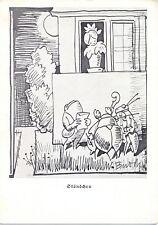 """Wilhelm Busch, Frosch, Hirschkäfer, Heuschrecke, """"Ständchen"""", um 1940"""