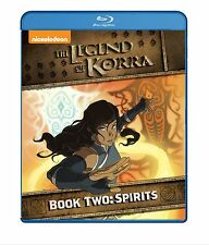 The Legend Of Korra . Book Two . Spirits . Season 2 . Anime . 2 Blu-ray . NEU
