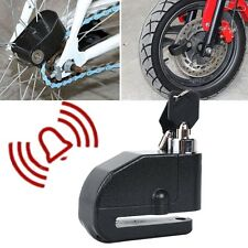 Black Wheel Brake Disc Alarm Lock Fit Kawasaki Vulcan Classic Custom 900