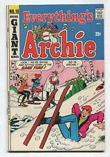 """Everything Archie #18 - """"Nap-Sap"""" - 1972 (Grade 6.0) WH"""