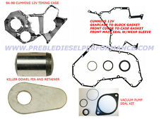 94-98 Dodge 5.9L 12 Valve Cummins Timing Gear Housing Case KDP/Gasket Kit