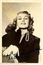 Rita Hayworth ++Autogramm++ ++Hollywood Legende++2
