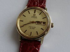 VINTAGE GENTS G/P OMEGA SEAMASTER DE-VILLE AUTOMATIC WATCH CAL 1020 1975