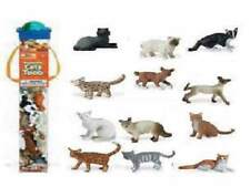 Chats De Maison Chats (12 Mini Figurines) Zone Thématique Safari Ltd 699204