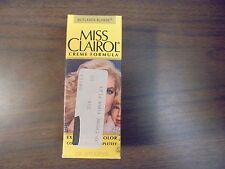 Vintage MISS CLAIROL Hair Color Bath with Collagen Enriched  30 Flaxen Blonde