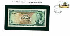 East Caribbean States … P-14h … 5 Dollars … ND(1965) … *UNC*