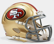 SAN FRANCISCO 49ers NFL Riddell SPEED Mini Football Helmet