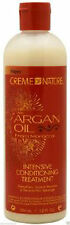 CREAM OF NATURE ARGAN OIL FROM MOROCCO *INTENSIVE CONDITIONING TREATMENT * 12oz