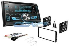 KENWOOD CAR STEREO SIRIUS XM RADIO WITH USB/AUX INPUTS W/ DASH KIT & BLUETOOTH