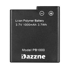 Dazzne P2 P3 Sport Camera Battery 3.7V 1000mAh Battery