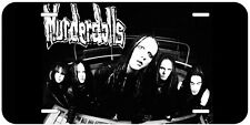 Murderdolls Aluminum Novelty Car License Plate