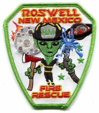 ROSWELL NEW MEXICO NM FIRE DEPT UFO THEY OUT THEIR GREEN MAN RFD FD