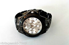 New Stylish  Wrist Watch for Men Black Strap & White Dial