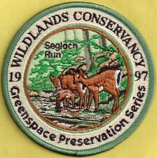 Pa Fish Game Commission Related 1997 PREMIER ISSUE Wildlands Conservancy Patch