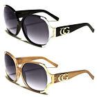 New CG Retro Vintage Large Oversized Womens Designer Sunglasses Fashion Shades
