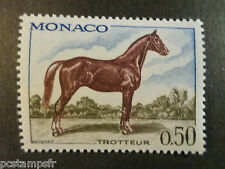 MONACO 1970, timbre 835, CHEVAL TROTTEUR, neuf**, VF MNH STAMP, HORSE