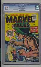 Marvel Tales #150 CGC 7.5 VF- Unrestored Marvel PCH Pre Code Horror CR/OW Pages
