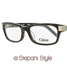 Chloe Rectangular Eyeglasses CE2605 219 Size: 52mm Dark Tortoise 2605
