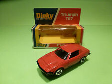 DINKY TOYS 211 TRIUMPH TR7 - RED - RARE SELTEN - GOOD CONDITION IN BOX