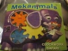 BOOK - Mekanimals Clockwork Safari by Poppy Red (Hardback, 2005)