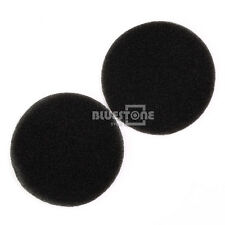 1 Pair Replacement Foam Ear Pads For Sennheiser HD433 HD440II Headphone 82mm