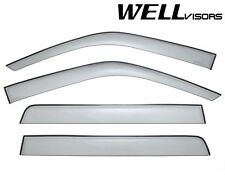 WellVisors Side Window Visors Deflectors For 93-98 Volkswagen Golf MK3 Hatchback