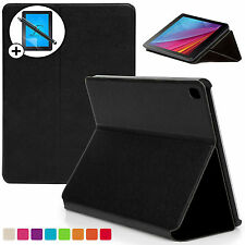 Black Clam Shell Smart Case Cover Huawei MediaPad T1 7.0 Plus Screen Prot Stylus