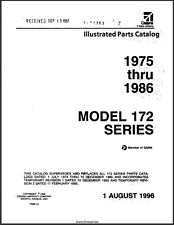 1975-1986 Cessna Model 172 Series Illustrated Parts Catalog Revision 1996 Manual