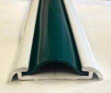 "1"" x 25 Ft. HUNTER GREEN Vinyl Insert Molding Trim Screw Cover RV Boat Trailer"