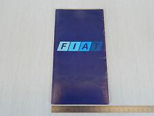 OPUSCOLO VINTAGE PRODUZIONE FIAT - 850 128 124 130 TRATTORE TRENO ETC CAMION