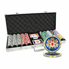500PCS 14G HIGH ROLLER CASINO TABLE CLAY POKER CHIPS SET
