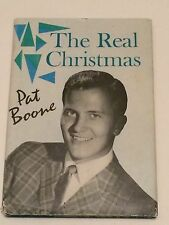 PAT BOONE SIGNED The Real Christmas 1961 BOOK- Ain't That A Shame, April Love