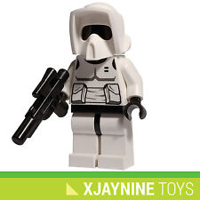 GENUINE LEGO STAR CLONE WARS Imperial Scout Trooper Minifig + Blaster NEW 8038