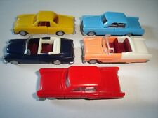 AMERICAN LIMOUSINES 1960's CLASSIC MODEL CARS SET 1:87 H0 - KINDER SURPRISE