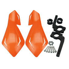 "7/8"" Dirt Bike Dirtbike ATV Motorcycle Brush Bar Hand Guards Handguard Orange"