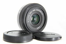 Excellent Panasonic Lumix G 20 mm F1.7 H-H020 Lens For Micro 4/3 #883 s11