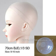 9-10inch 1/3 BJD 70cm BJD Wig Cap Dollfie DREAM Head Silicone Sheath DOD AOD MID