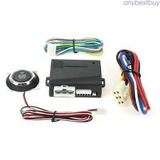 Universal Push Button Start & Stop Remote Control System Working With Car Alarm
